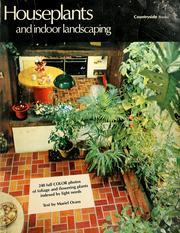Cover of: Houseplants and indoor landscaping