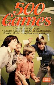 Cover of: 500 games