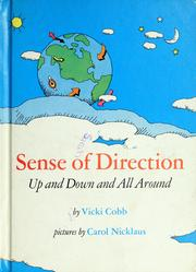 Cover of: Sense of direction: up and down and all around.
