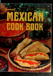 Cover of: Sunset Mexican cook book | Sunset Books