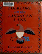 Cover of: Folklore on the American land