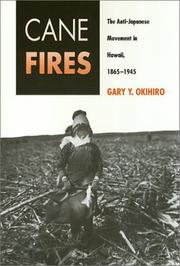 Cover of: Cane fires