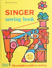 Cover of: Singer sewing book by Jessie Hutton