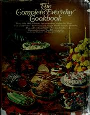 Cover of: The Complete everyday cookbook. |