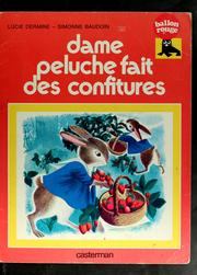 Cover of: Les confitures de Dame Peluche