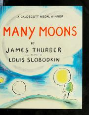 Cover of: Many moons | James Thurber