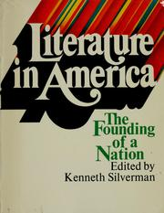 Cover of: Literature in America