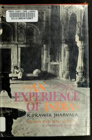 Cover of: An experience of India