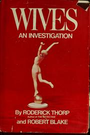 Cover of: Wives | Roderick Thorp
