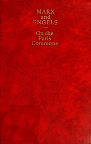 Cover of: On the Paris Commune