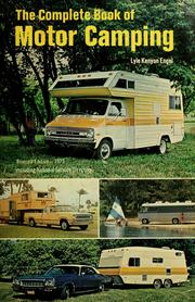 Cover of: The complete book of motor camping