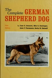 Cover of: The Complete German Shepherd Dog