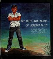 Cover of: My days are made of butterflies