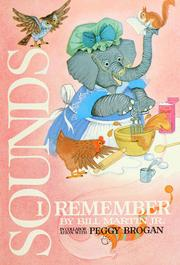 Cover of: Sounds I remember
