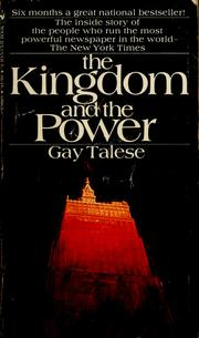 Cover of: The kingdom and the power | Gay Talese