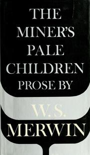 Cover of: The miner's pale children