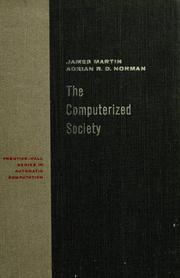 Cover of: The computerized society | James Martin