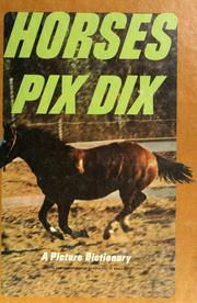 Cover of: Horses pix dix