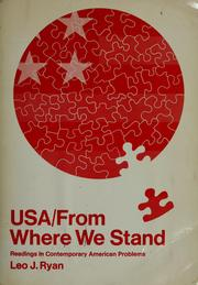 Cover of: USA from where we stand | Leo J. Ryan