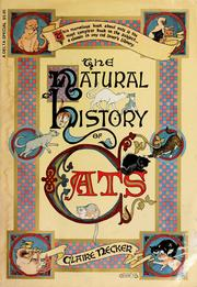 Cover of: The natural history of cats