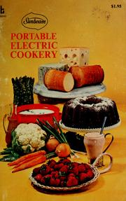 Cover of: Sunbeam portable electric cookery