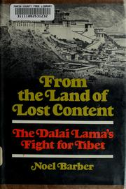 Cover of: From the land of lost content