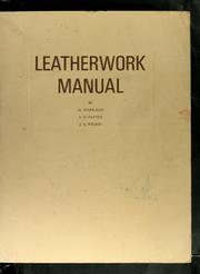 Cover of: Leatherwork manual
