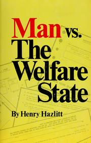 Cover of: Man vs. the welfare state