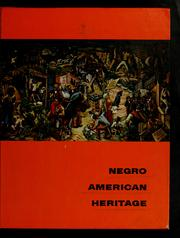 Cover of: Negro American heritage
