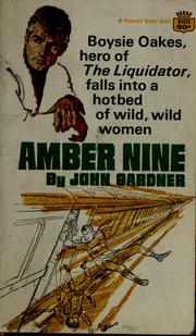 Cover of: Amber Nine | John Gardner