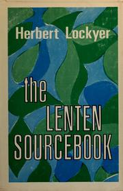 The Lenten sourcebook