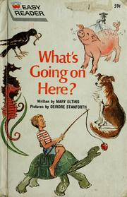Cover of: What's going on here?