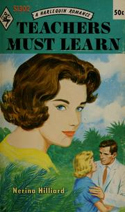 Cover of: Teachers Must Learn