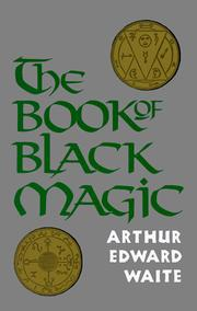 Cover of: The book of black magic and of pacts
