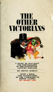 Cover of: The other Victorians | Steven Marcus