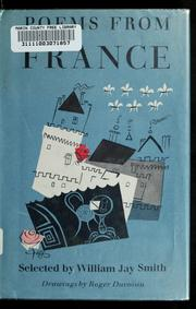 Cover of: Poems from France
