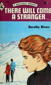 Cover of: There will come a stranger