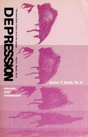 Cover of: Depression; causes and treatment | Aaron T. Beck