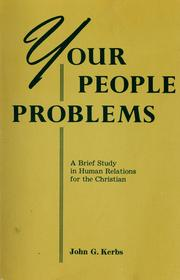 Cover of: Your people problems | John G. Kerbs