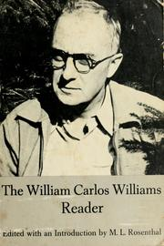 Cover of: The William Carlos Williams reader