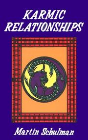 Cover of: Karmic relationships | Martin Schulman