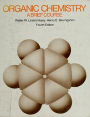 Cover of: Organic chemistry | Walter William Linstromberg