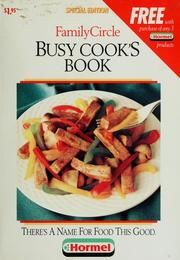 Cover of: Busy cook
