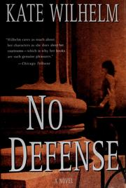 Cover of: No defense | Kate Wilhelm