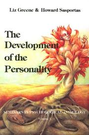 Cover of: The development of the personality