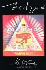 Cover of: The holy books of Thelema