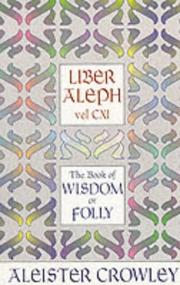 Cover of: Liber aleph vel CXI