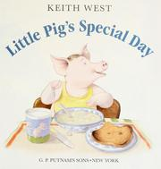 Cover of: Little Pig's special day | Keith R. West