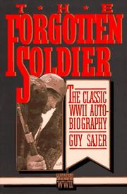 Cover of: The forgotten soldier | Guy Sajer