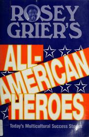 Cover of: Rosey Grier's all-American heroes | Rosey Grier